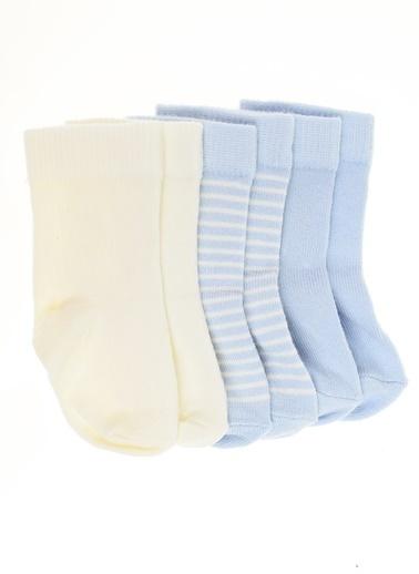 012 Benetton Çorap Seti Mavi